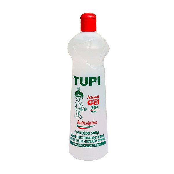Álcool em Gel 70º INPM 500g Tupi
