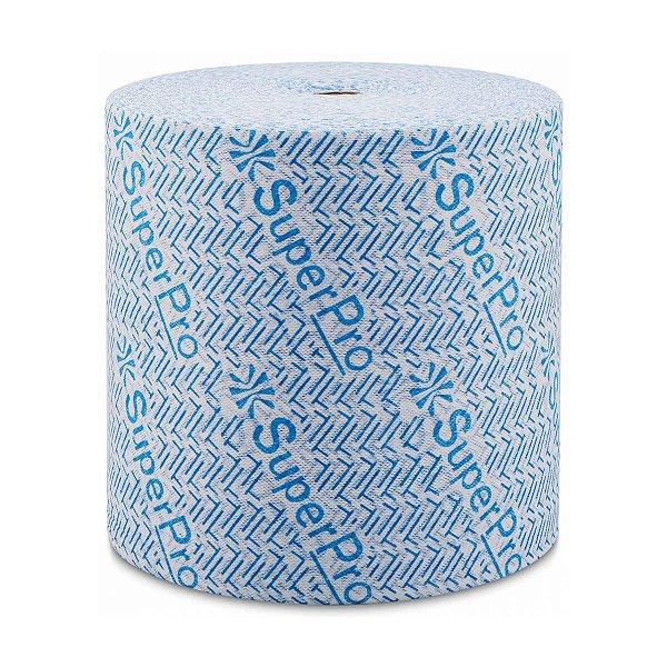 Pano Multiuso Azul 28cmx300m 35g/m² Rolo com 750 Panos SuperPro Bettanin