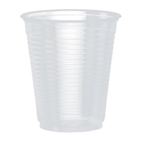 Copo Plástico Descartável 180ml PS Translúcido Cristalcopo