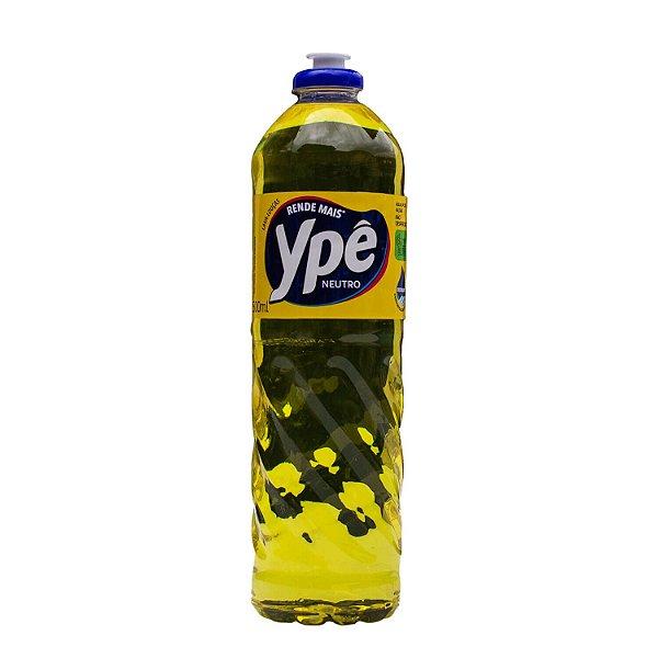Detergente Lava Louças Neutro 500ml Ypê