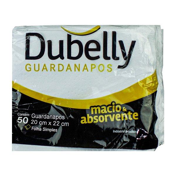 Guardanapo 100% Celulose 20x22cm Dubelly com 100 Folhas