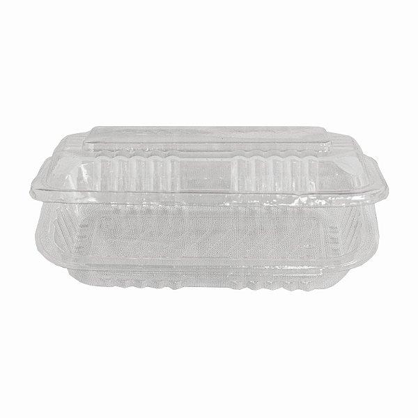 Embalagem Retangular com Tampa Articulada Nº8 com 100 Unidades Pplast