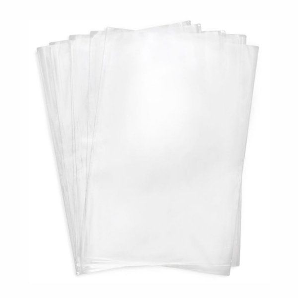 Saco Plástico PP 15x25cm 0,006mm com 1kg, Aproximadamente 444 Unidades