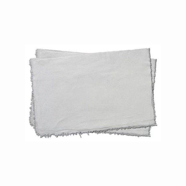 Saco Alvejado Pano de Chão Branco 42x60cm com 1 Unidade