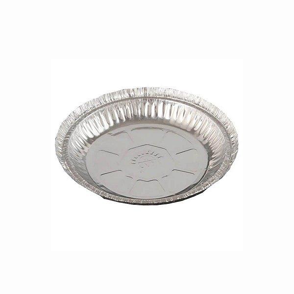 Marmitex de Alumínio Redonda W7 480ml para Máquina Wyda com 100 Marmitas
