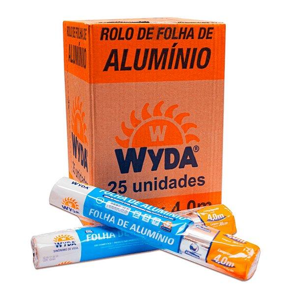 Folha de Alumínio 30cmx4,0m Wyda
