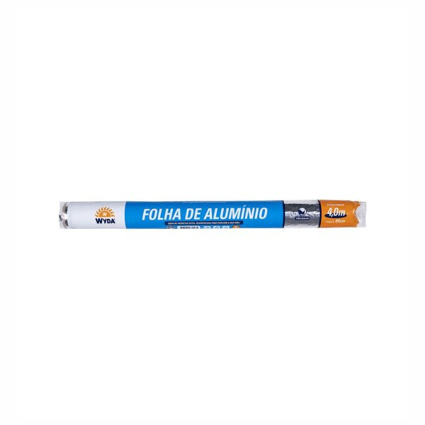 Folha de Alumínio 45cmx4,0m Wyda