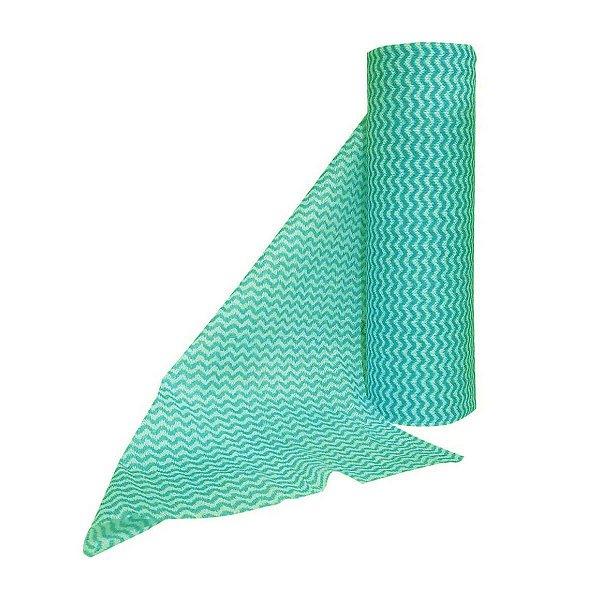 Pano Multiuso Verde 30cmx25m 35g/m² Rolo com 50 Panos SuperPro Bettanin