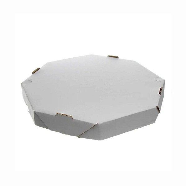 Caixa de Papelão Oitavada para Pizza 35cm com 25 Embalagens