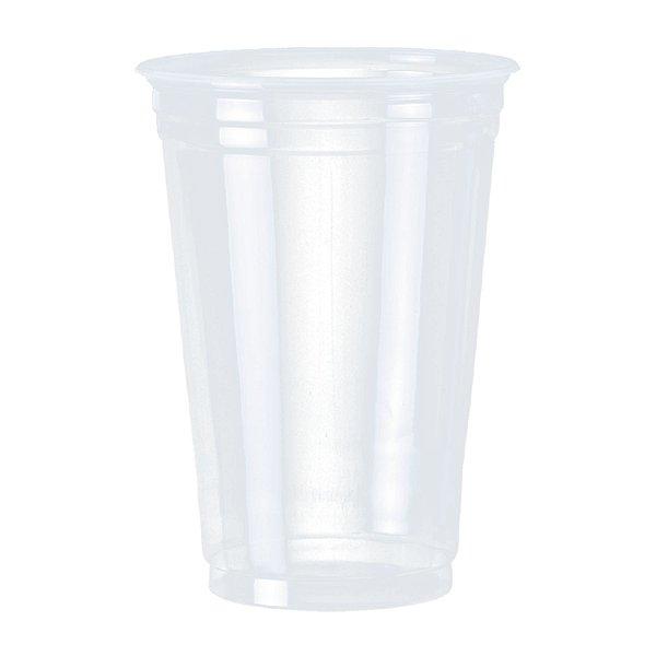 Copo Plástico Descartável 440ml PP Translúcido Cristalcopo