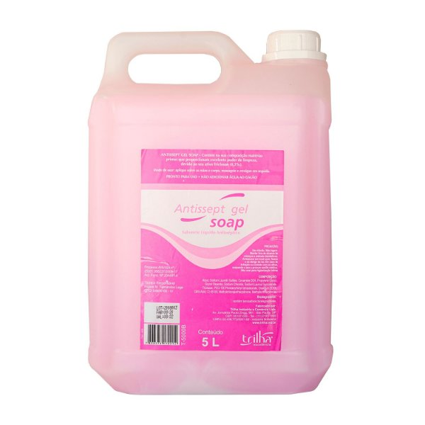 Sabonete Líquido Antisséptico com Triclosan 5L Exaccta