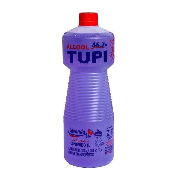 Álcool Etílico 46,2º INPM Lavanda 1L Tupi
