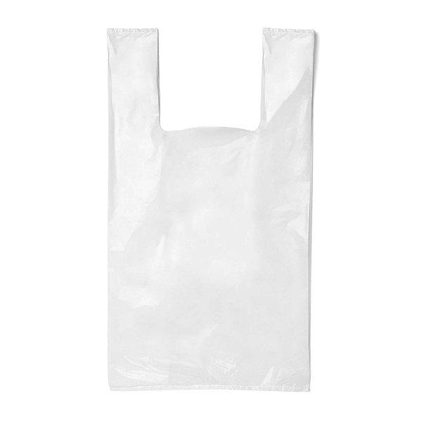 Sacola Plástica 40x50cm Branca com 2,5kg Rioplastic