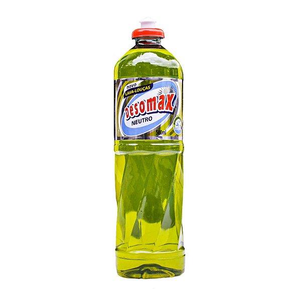 Detergente Lava-Louças Neutro 500mL Desomax