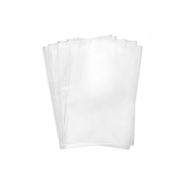 Saco Plástico PP 35x45cm 0,006mm com 1kg, Aproximadamente 105 Unidades