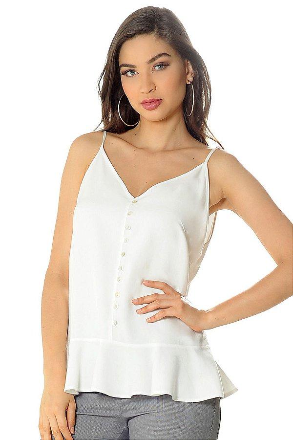 Blusa Glaucia Off White
