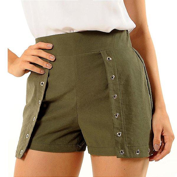 Shorts Saia Fernanda Verde