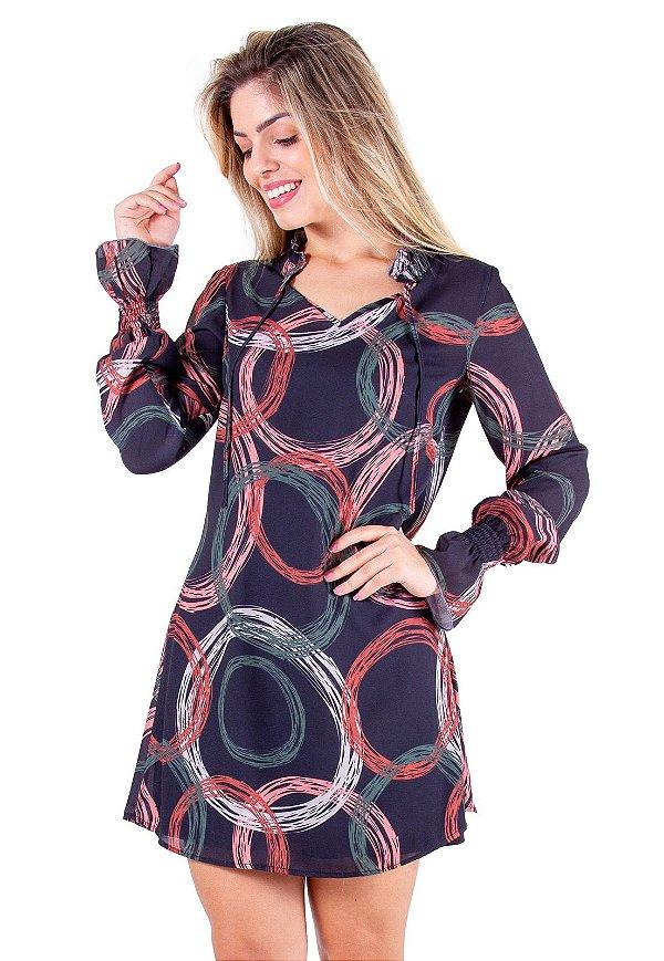 Vestido Livia Preto