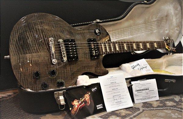 Gibson Lespaul Studio Pro Plus Transblack ( 2011) ------------ R$ 10.999,00
