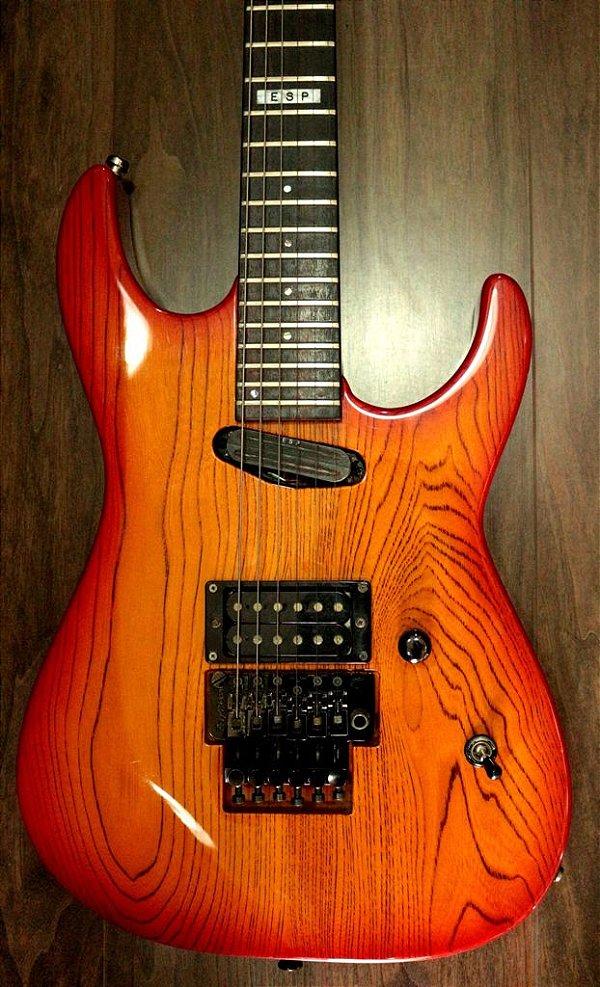 Guitarra Esp M-II Deluxe (Japan)