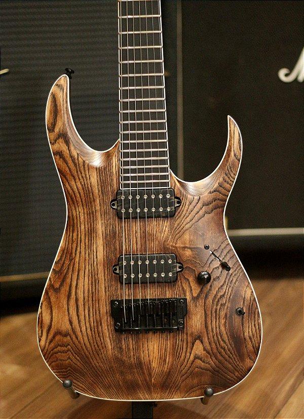 Guitarra Ibanez Iron Label RGAIX7U abs Bare Knuckle