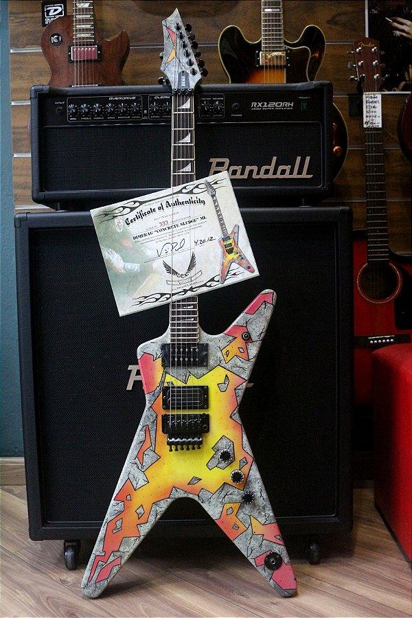 Guitarra Dean Dime Concrete Sledge limited (220-333)
