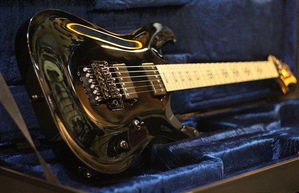 (Semi Novo) Guitarra Schecter Jeff Loomis JL6 Fr BLK + Hardcase Original (Korea) ----- R$ 9.799,00