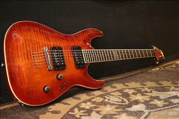 (Semi Novo) Guitarra Ltd Horizon H-401 Fm Acsb ( Seymour Duncan -------- R$ 3.999,00