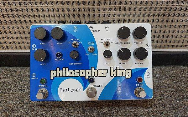 (Semi Novo) Pedal Pigtronix Philosopher King - Multi-efeito ( USA ) --------- R$ 1.999,00