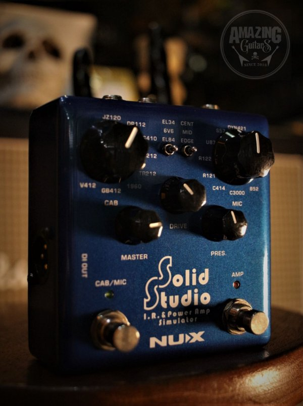 (Semi Novo) Pedal Nux Solid Studio Amp Simulator Nss-5