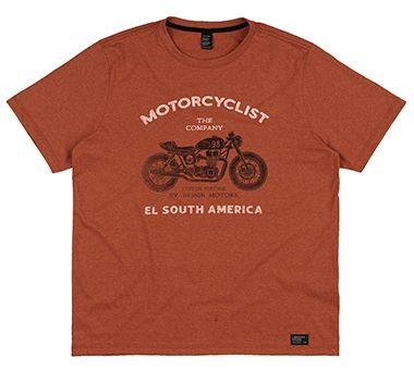 Camiseta Plus Size Masculina c/ Estampa Racer
