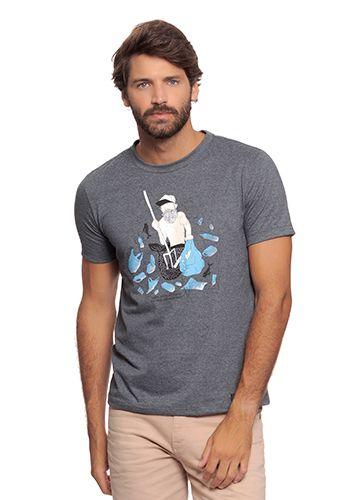 Camiseta Masculina - Malha Pet
