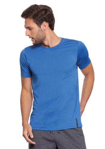 Camiseta Masculina Azul - Linha Fitness
