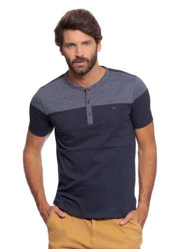 Camisa Portuguesa Masculina c/ Recortes