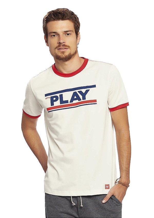 Camiseta Adulta Masculina Malha Play
