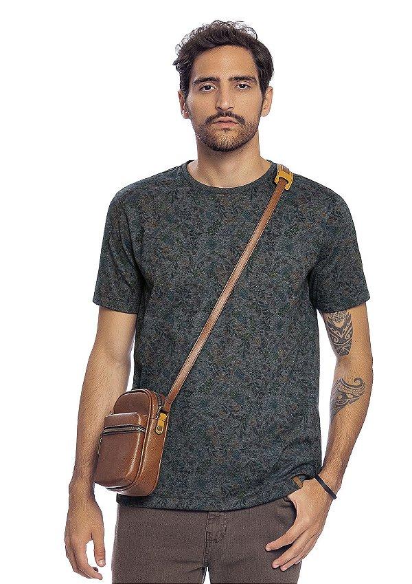 Camiseta Masculina Full Print Colisão