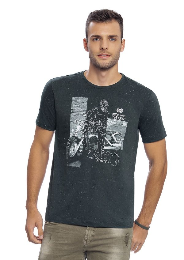 Camiseta Masculina Adulta
