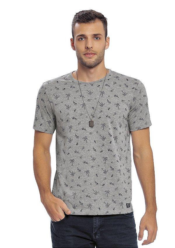 Camiseta Adulto Mescla Full Print