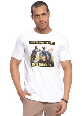 Camiseta Masculina Fun Design