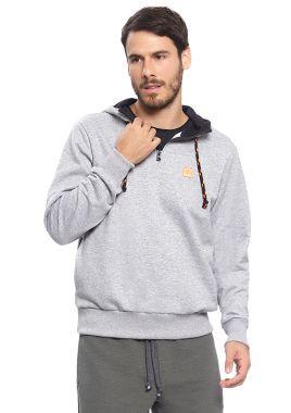 Blusão Masculino em Moletom com Capuz