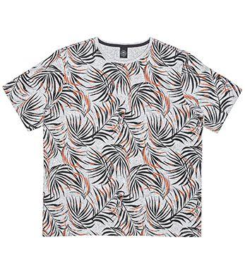 Camiseta Masculina Plus Size Full Print