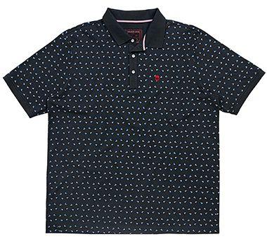 Camisa Polo Plus Size Masculina com Estampa