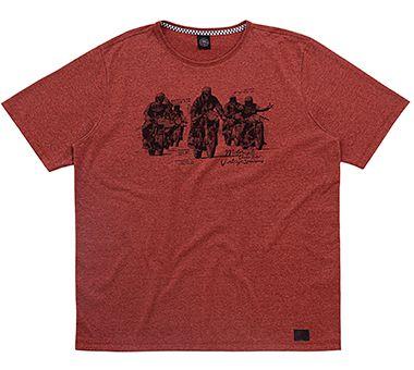 Camiseta Plus Size Masculina com Estampa Racer