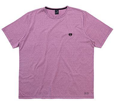 Camiseta Plus Size Masculina com Bordado