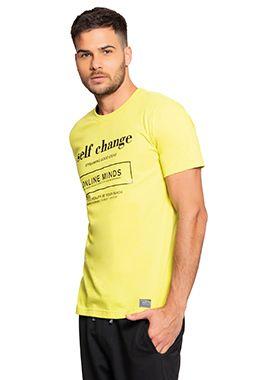 Camiseta Masculina com Lettering Inspirador
