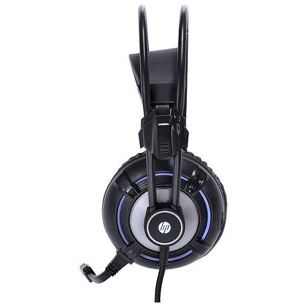 HEADSET HP H300 BLACK PC COM VIBRAÇÃO USB/P2