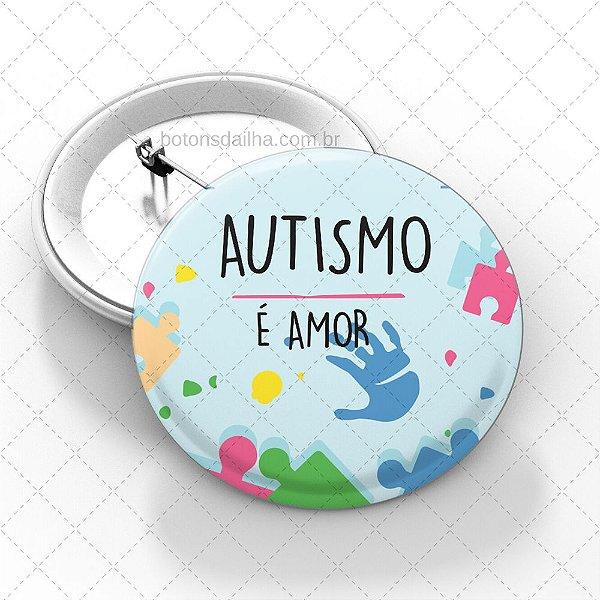 Boton Autismo - Modelo 06