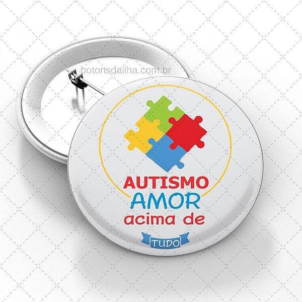 Boton Autismo - Modelo 09