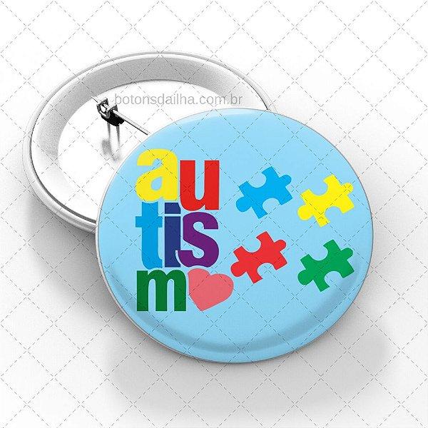 Boton Autismo - Modelo 15