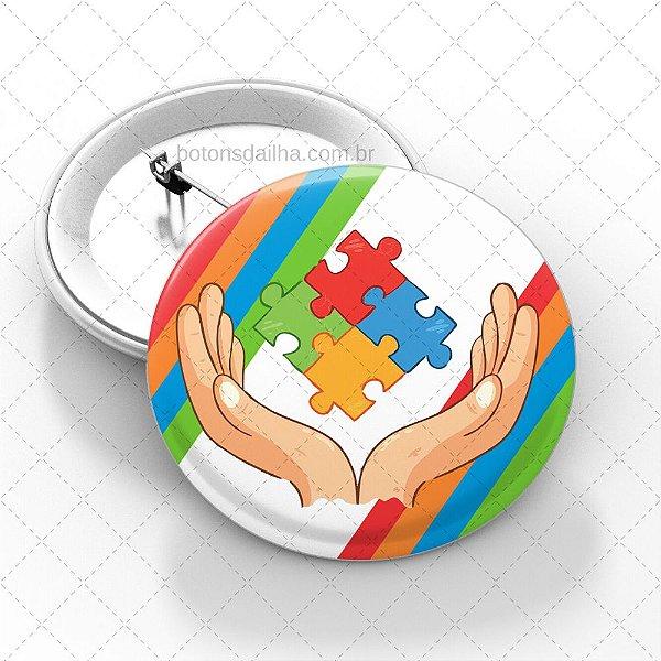 Boton Autismo - Modelo 26